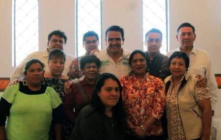 Los comerciantes de Zempoala, forman parte de la agenda legislativa de Sinuhé Ramírez2