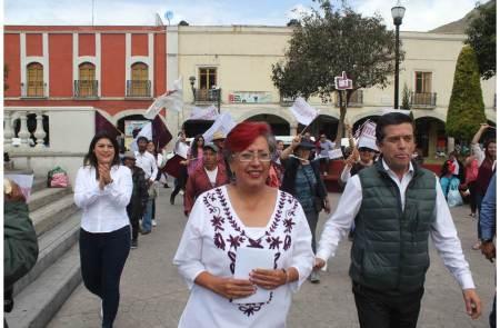 Más seguridad para los pachuqueños, mi compromiso, Corina Martínez2