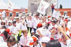 Megacrucero Estatal, en Plaza Juárez, para dar a conocer propuestas de José Antonio Meade y los candidatos del PRI