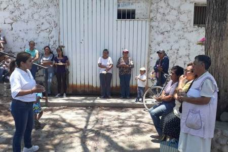 Nancy Luna Zúñiga trabajará a favor de la niñez para que tengan un mejor bienestar