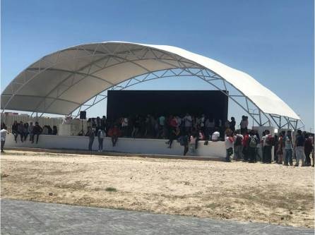 Ofrece UTVAM nuevo espacio a estudiantes con su auditorio al aire libre4