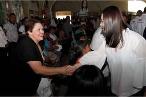 Orgullo y compromiso votar por el PRI, aseguran habitantes del Valle del Mezquital