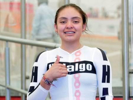 Oro y bronce para Hidalgo en ciclismo de pista en ON 2018 1.jpg