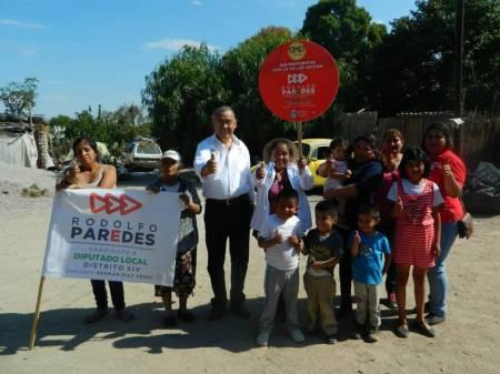Pobladores solicitan a Rodolfo Paredes Carbajal atender servicios públicos