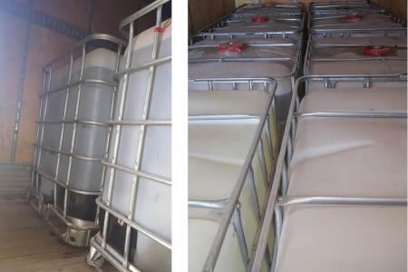 Policía de Tizayuca asegura alrededor de 8 mil litros de combustible que estaba oculto en un camión de carga2