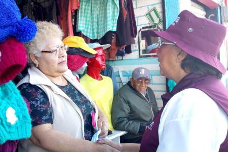 Preocupados adultos mayores por poco recurso en pensión, Corina Martínez