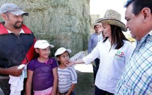 Promoveré la inversión para que Hidalgo continúe creciendo, aseveró Nuvia Mayorga en Actopan