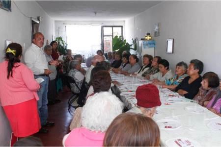 Rafael Garnica, adultos mayores un sector prioritario