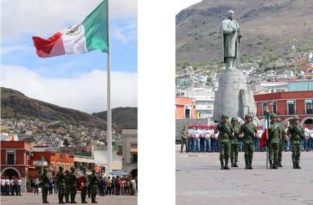 Realizan la Toma de Protesta de Bandera al personal del Servicio Mexicano Nacional clase 1999 anticipados, remisos y mujeres voluntarias4