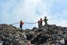 Reducen incendio en tiradero de basura de Mineral de la Reforma; medidas preventivas se suspenden a partir del viernes4