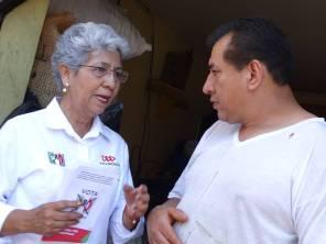 Reforzar programas de prevención y tratamiento de obesidad, compromete Paquita Ramírez1