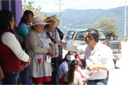 Roberto Núñez recorre los límites de El Arenal con Mineral del Chico