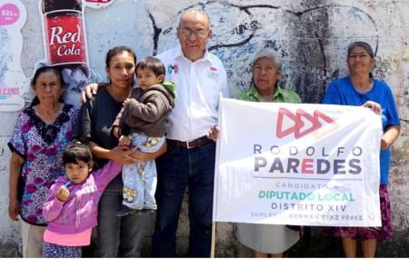 Rodolfo Paredes continúa con sus recorridos por el distrito de Tula1