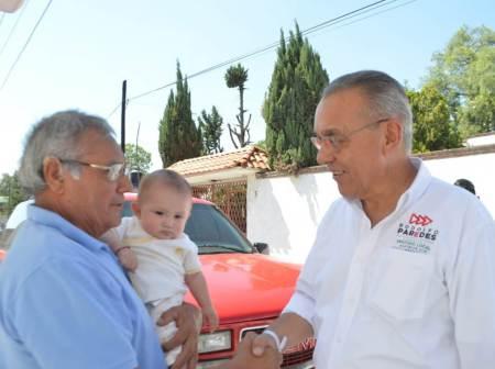 Rodolfo Paredes legislará por el respeto y cuidado de los adultos mayores