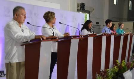 """Se realiza cuarto """"Debate por Hidalgo"""" en el Distrito 04 Huejutla"""