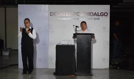 """Se realiza cuarto """"Debate por Hidalgo"""" en el Distrito 04 Huejutla2"""