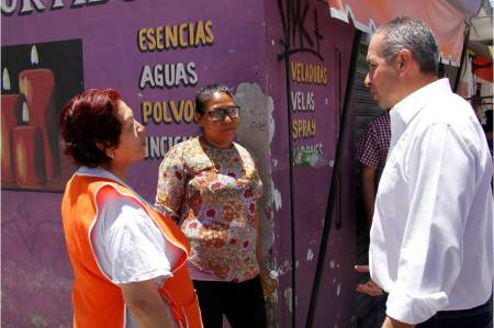 Sergio baños indicó que se debe atender de forma inmediata el problema de la basura en las calles de Pachuca