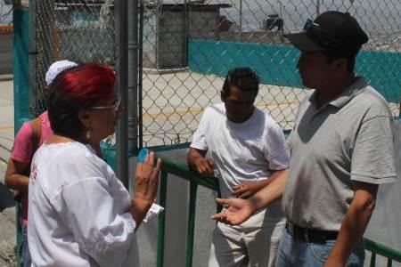 Trabajadores de la construcción y comerciantes con Corina Martínez2