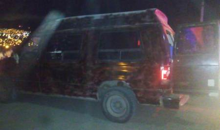 Transportaba más de mil litros de combustible, fue detenido