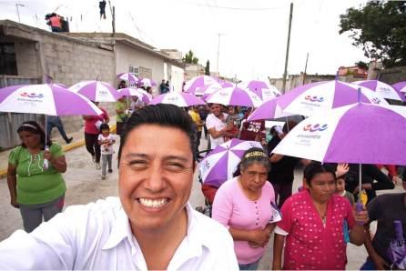 A menos de 2 semanas de que concluyan las campañas Edwin Hernández consolida un avance notable4