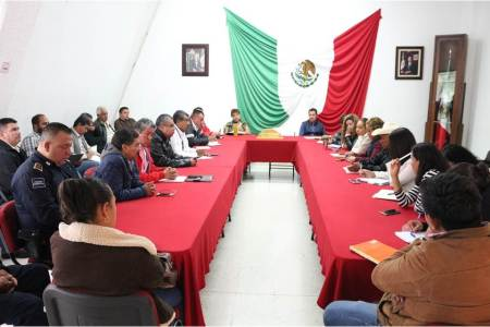Ajustan plan de contingencias del municipio de Tizayuca