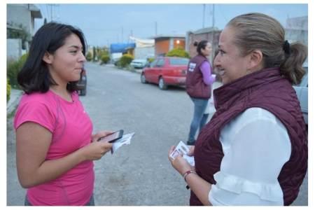 Apoyará Isabel Alfaro creación y rehabilitación de espacios públicos