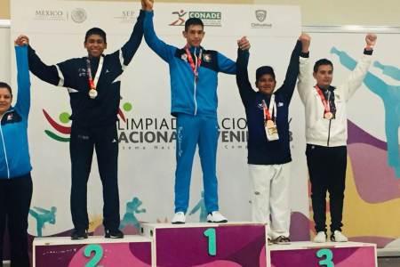 Charrería y taekwondo suman las primeras medallas para Hidalgo en la ON y ONJ 2018