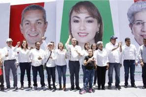 Cierran campaña candidatos a diputados federal y locales por Pachuca
