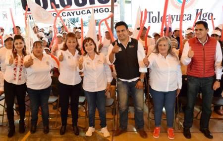 Citlali Jaramillo y Silvia López cierran campaña en Zapotlán y Tolcayuca.jpg