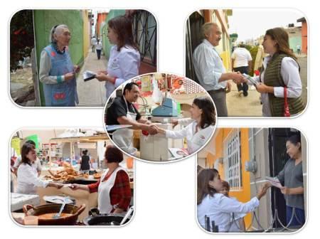 Compromete Citlali Jaramillo trabajo para poner al día a los mercados públicos