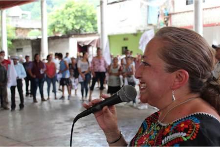 Con marcha en Huehuetla cierra Isabel Alfaro campaña en la Otomí-Tepehua2