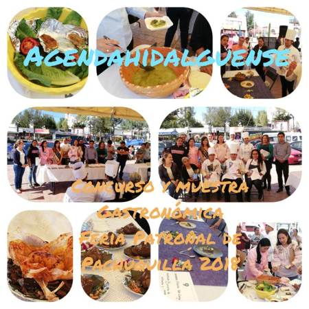 Concurso y degustación gastronomica en Feria Patronal de Pachuquilla 2018