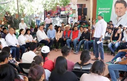 Cuauhtémoc Ochoa reafirma compromisos con los jóvenes 3