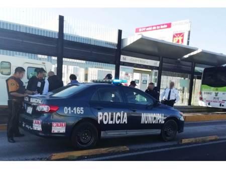 Custodio de una empresa de seguridad privada fue arrollado por un vehículo del transporte público