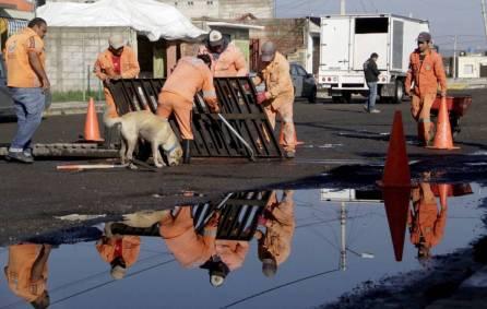 Dependencias de gobierno realizaron trabajos de limpieza y valoración en zonas afectadas por las lluvias3