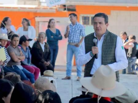 Deseo construir un mejor Hidalgo, más unido, más perseverante y más humano, Francisco Sinuhé