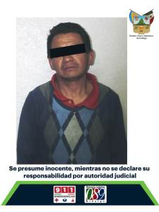 Detienen a sujeto implicado en probable robo en una construcción localizada en Pachuca