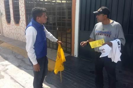 """Dither Estrada """"el cachorro Estrada"""", propone dar mejoras a los ciudadanos con proyectos incluyentes y verdaderamente ciudadanos"""