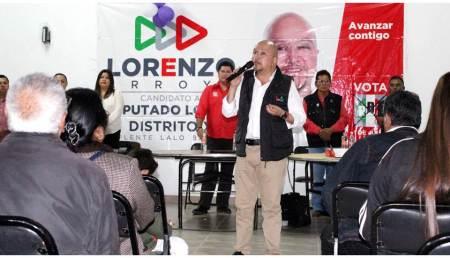 """""""Continuaré con reuniones vecinales y diálogos ciudadanos"""", Lorenzo Arroyo"""