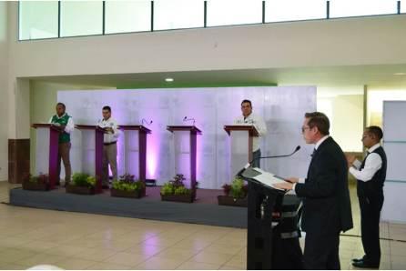 """""""Debate por Hidalgo"""" en el Distrito 09 Metepec"""