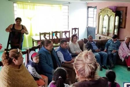 Efraín Pedraza Cruz seguro de llegar al Congreso local dijo que gestionará para que los ciudadanos tengan acceso a una vivienda digna