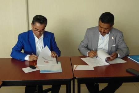 El Colegio de Ingenieros Civiles del Estado de Hidalgo, firmó un convenio de colaboración con la empresa Hidráulica Termo Plus
