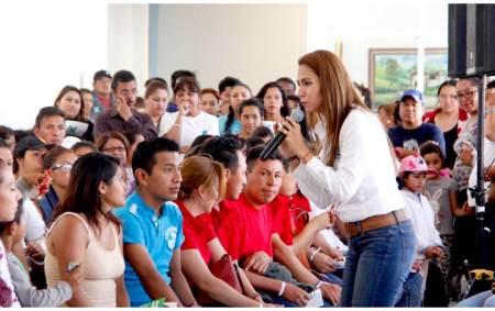 Eréndira Contreras generará proyectos para lograr el bienestar de los hidalguenses