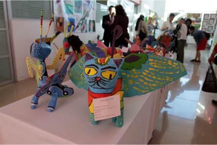 Estudiantes de preescolar montan exposición artística4