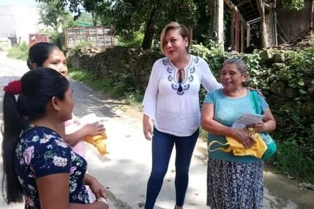 Fátima Crespo propone mejorar las leyes para beneficiar a indígenas y población en general