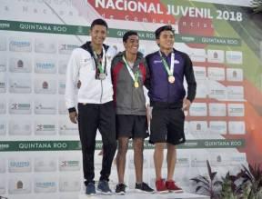 Finaliza natación con siete medallas en Olimpiada Nacional 2