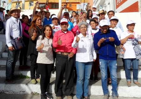 Garantizar el estado de derecho y seguridad, Paquita Ramírez