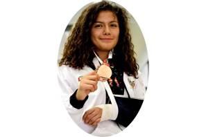 Hidalgo finaliza la Olimpiada Nacional con bronce en TKD