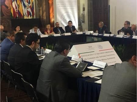 Hidalgo representará a la zona centro en la primera comisión del Consejo del SINEMS