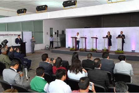 """IEEH realiza """"Debate por Hidalgo"""" en el Distrito 13 Pachuca4"""
